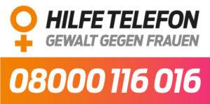Hilfe Telefon Gewalt gegen Frauen - 08000116016